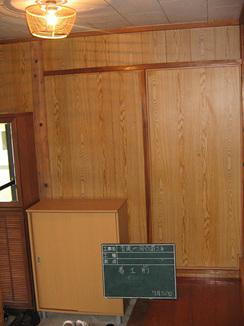 玄関から廊下のリフォーム 施工前